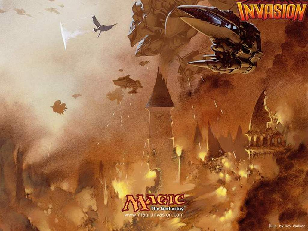 Games Wallpaper: Magic, the Gathering - Invasion