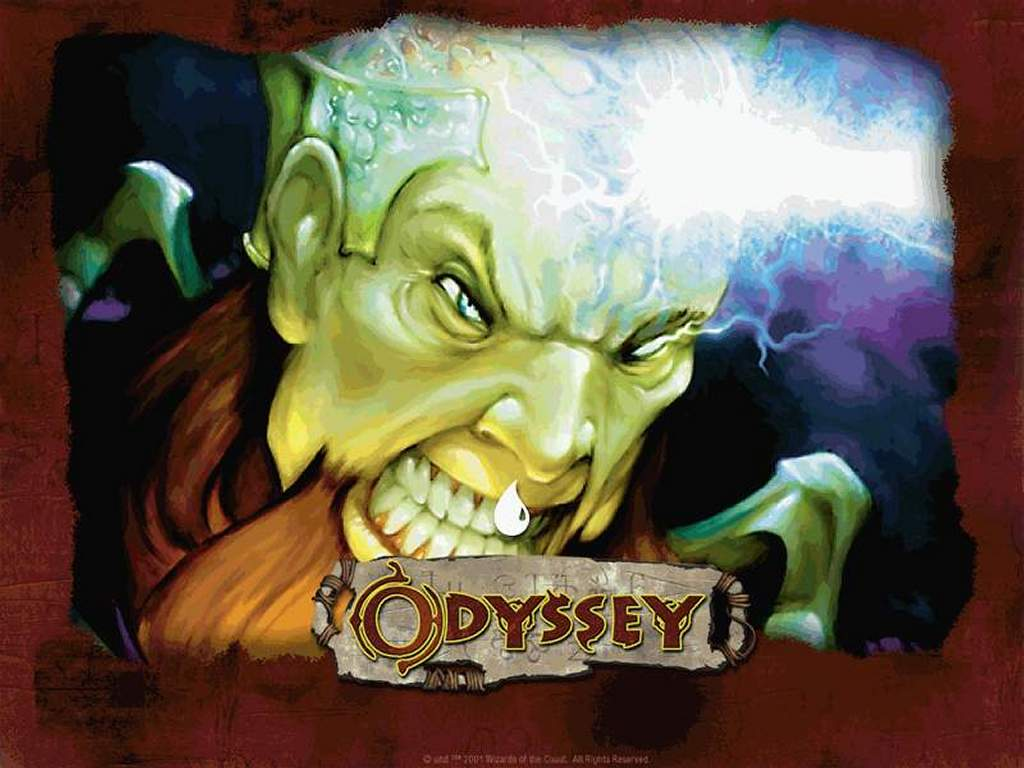 Games Wallpaper: Magic, the Gathering - Odyssey Blue