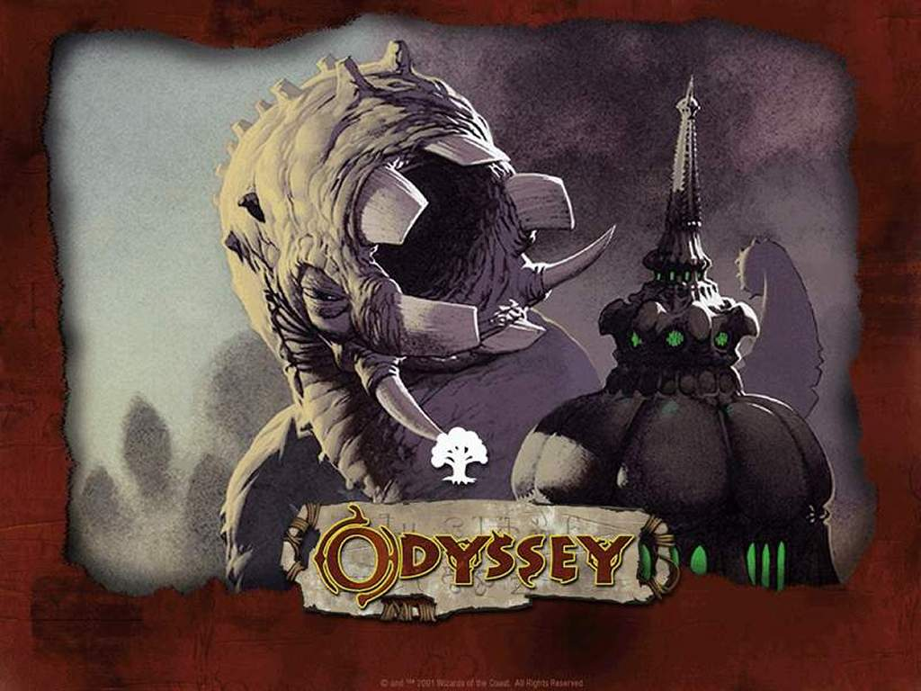 Games Wallpaper: Magic, the Gathering - Odyssey Green