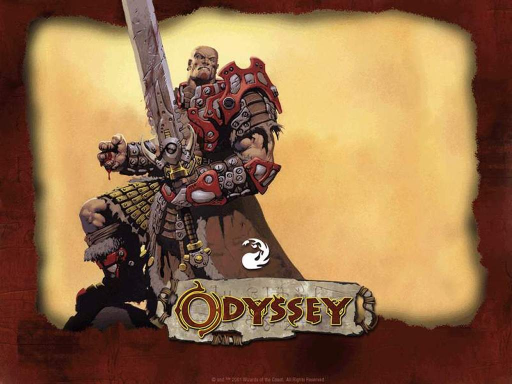 Games Wallpaper: Magic, the Gathering - Odyssey Red