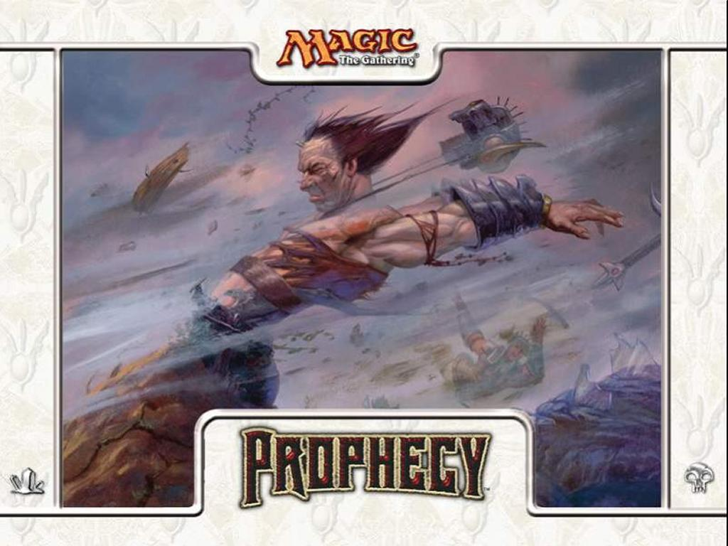 Games Wallpaper: Magic, the Gathering - Prophecy White