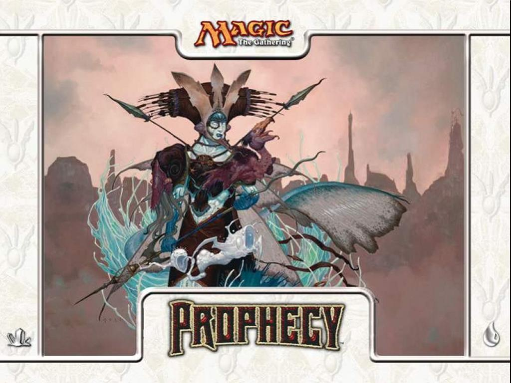 Games Wallpaper: Magic, the Gathering - Prophecy Blue