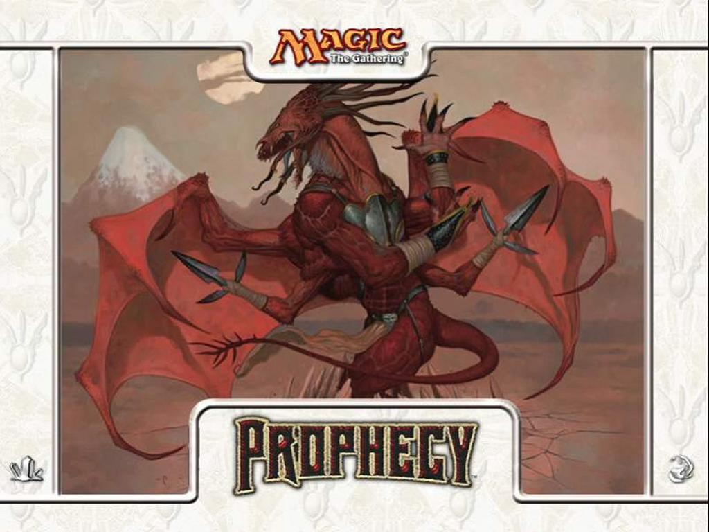 Games Wallpaper: Magic, the Gathering - Prophecy Red