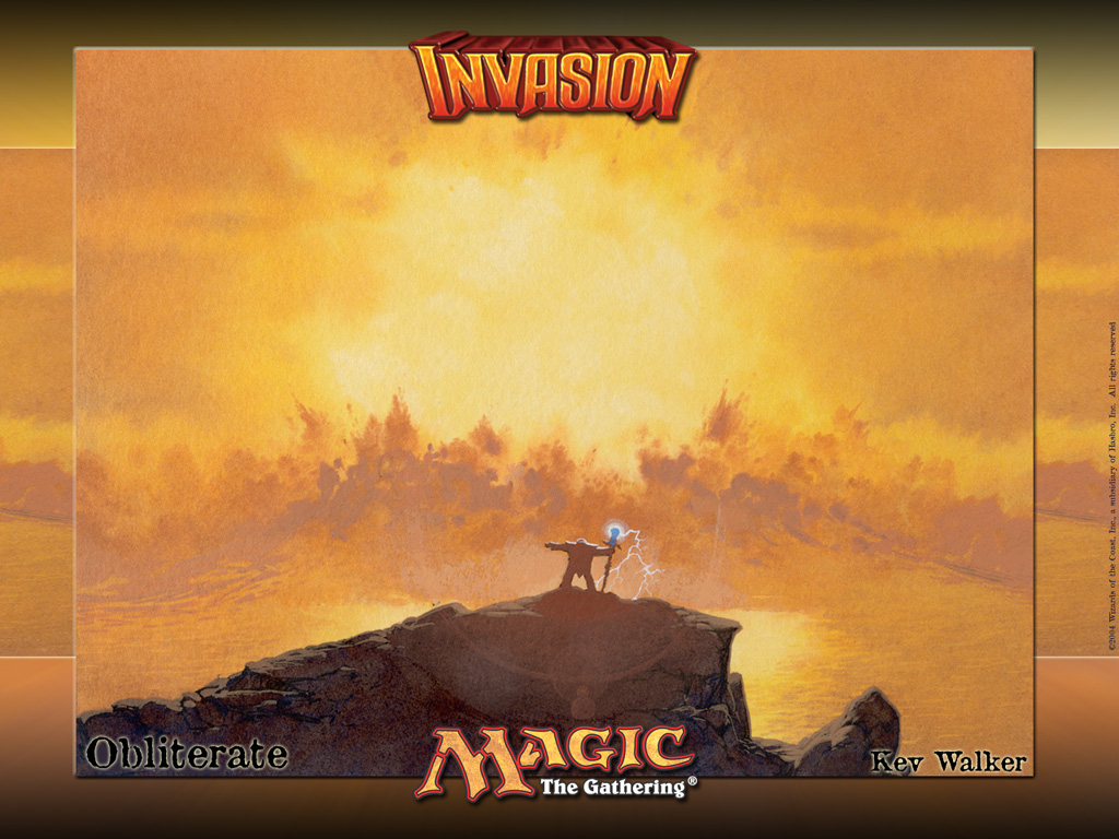 Games Wallpaper: Magic the Gathering - Obliterate