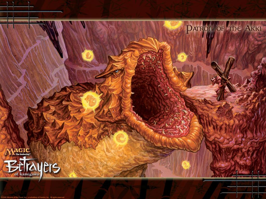 Games Wallpaper: Magic the Gathering - Patron of the Akki