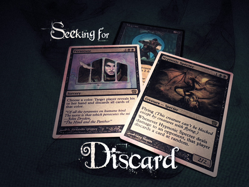Games Wallpaper: Magic the Gathering - Seeking for Discard