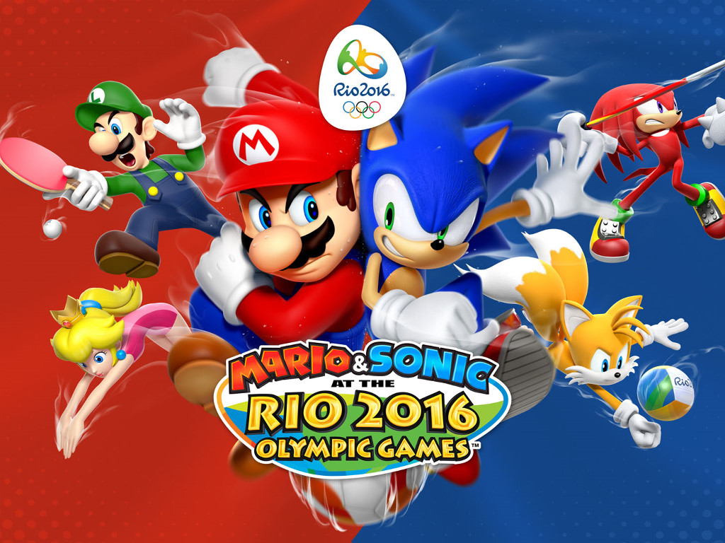 Games Wallpaper: Mario and Sonic - Olympics 2016