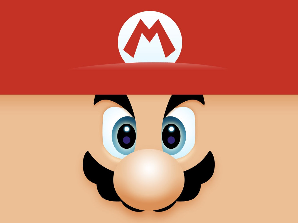 Games Wallpaper: Mario - Face