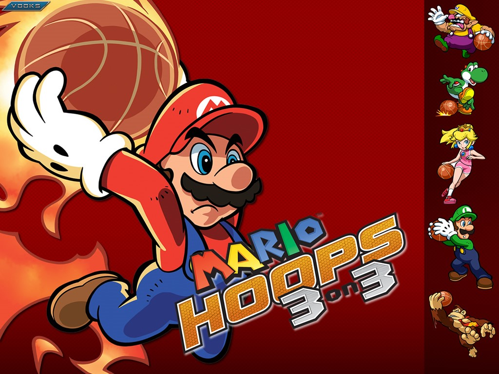 Games Wallpaper: Mario Hoops 3 on 3