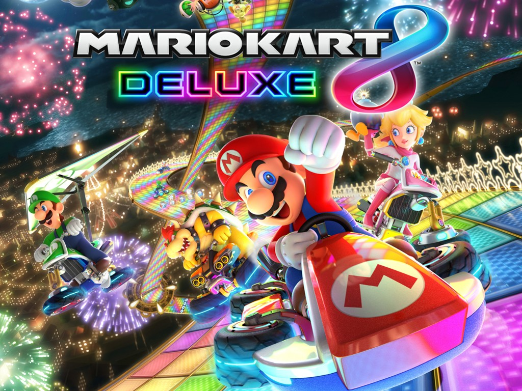 Games Wallpaper: Mario Kart 8