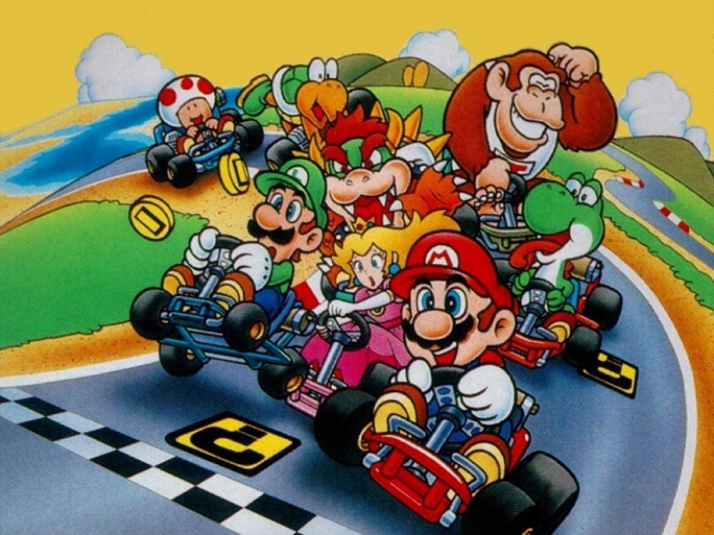 Games Wallpaper: Mario Kart - Classic
