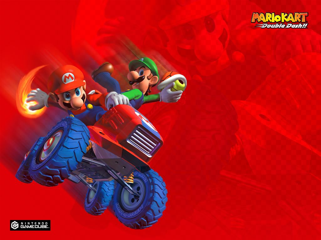 Games Wallpaper: Mario Kart Double Dash
