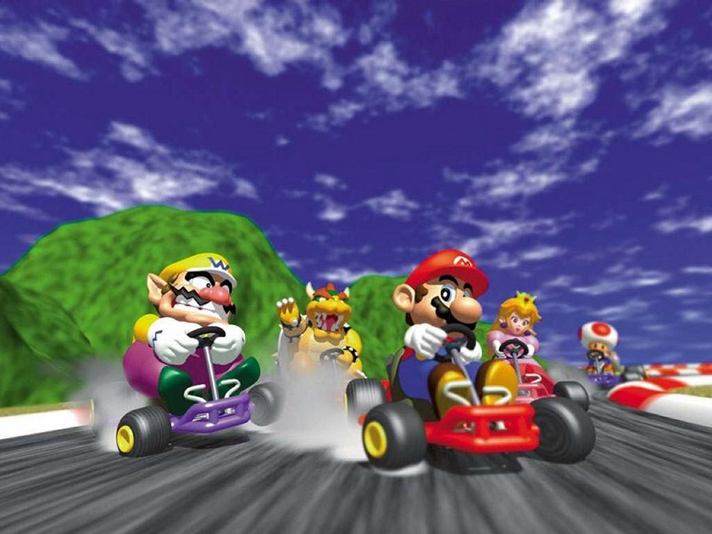 Games Wallpaper: Mario Kart