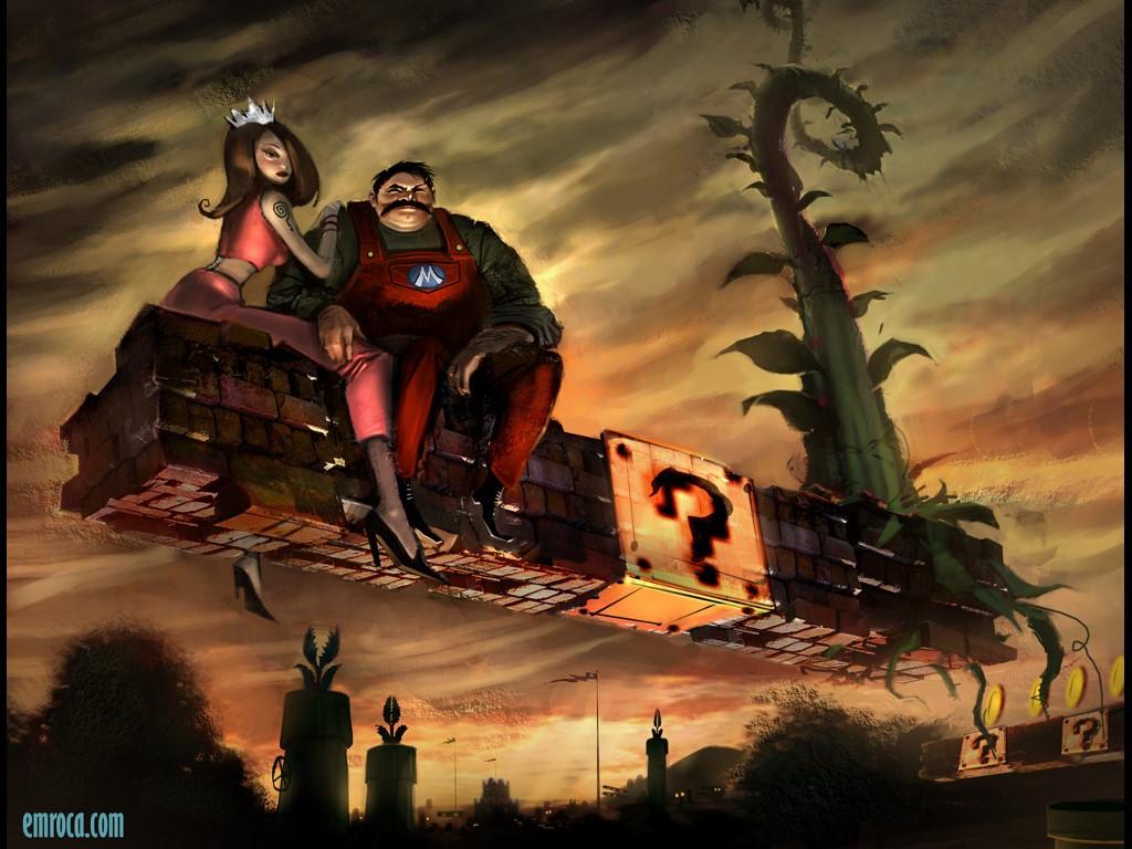 Games Wallpaper: Mario - Art