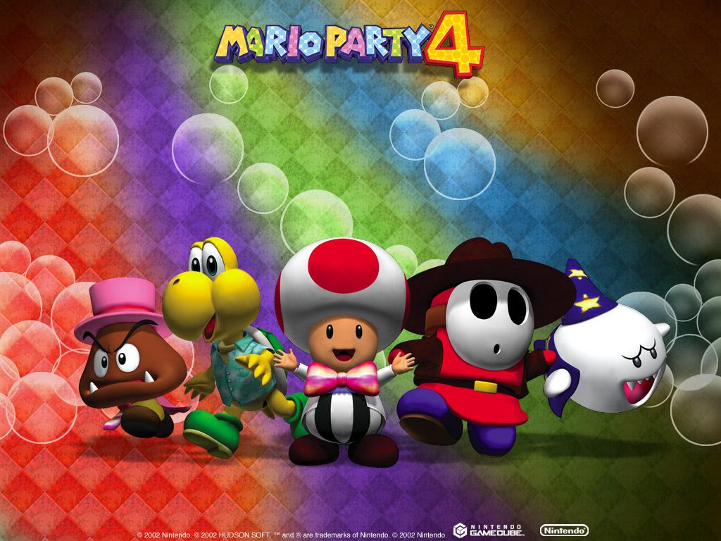 Games Wallpaper: Mario Party 4