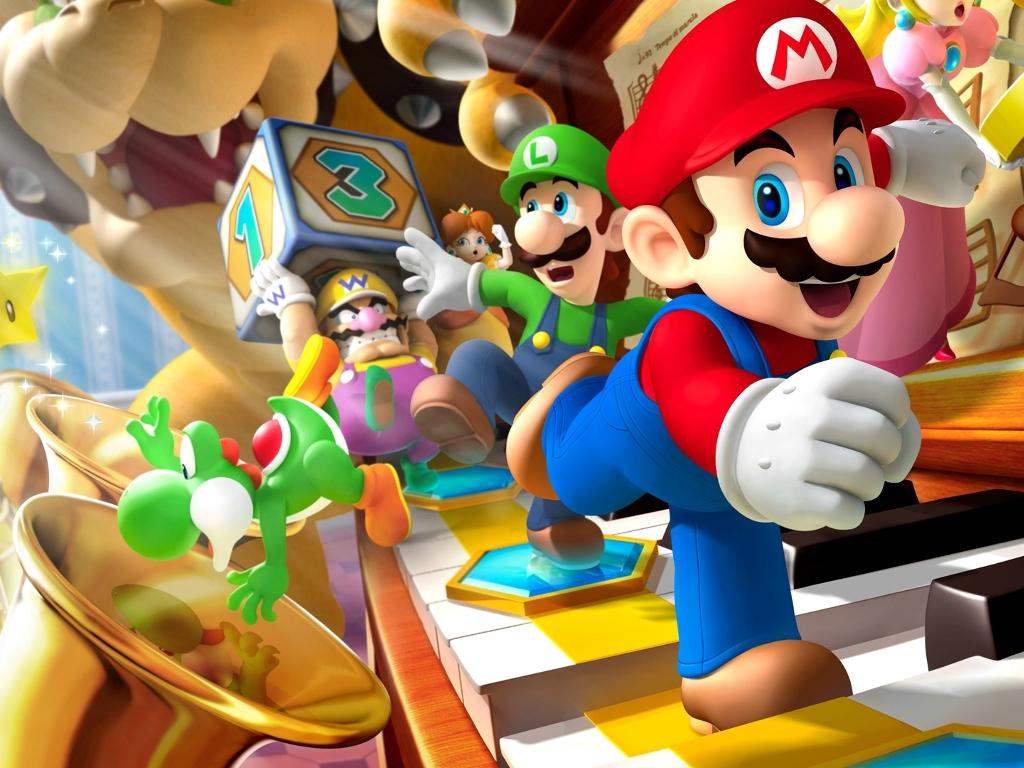 Games Wallpaper: Mario Party