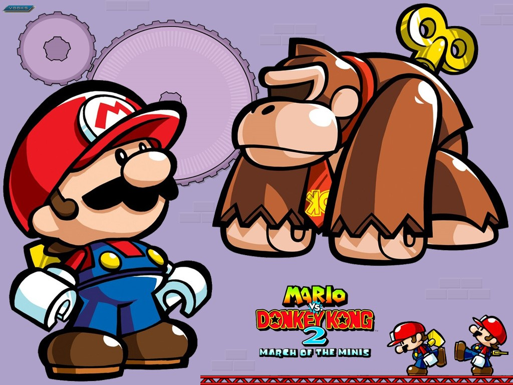 Games Wallpaper: Mario vs Donkey Kong 2