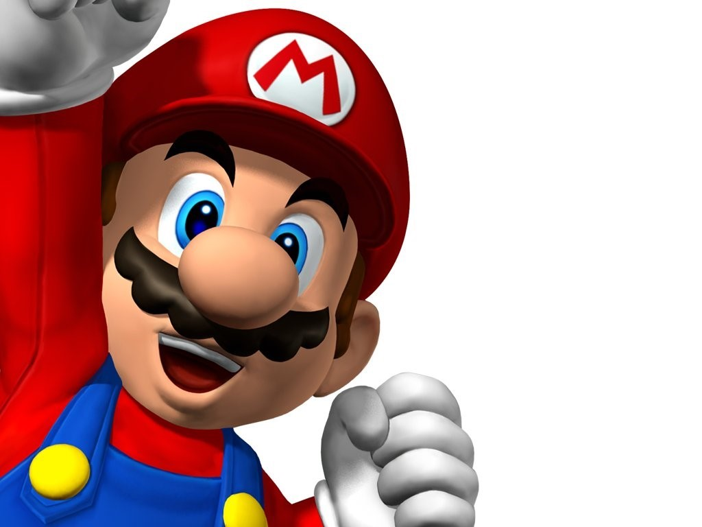 Games Wallpaper: Mario