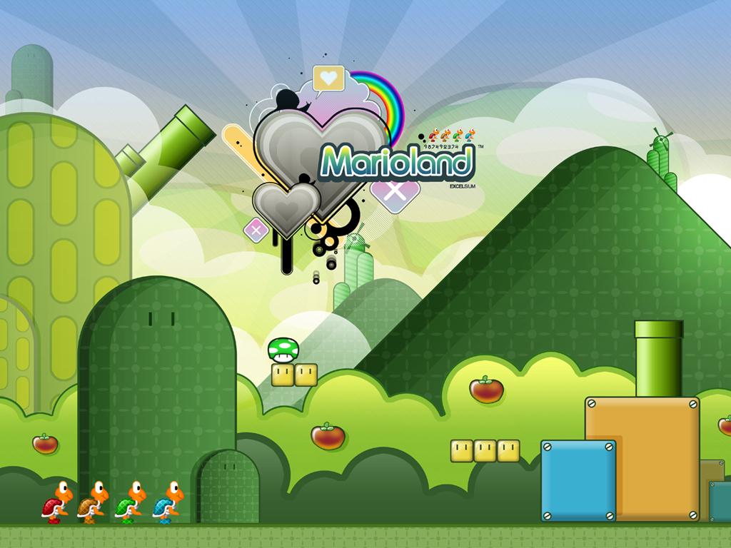 Games Wallpaper: Marioland