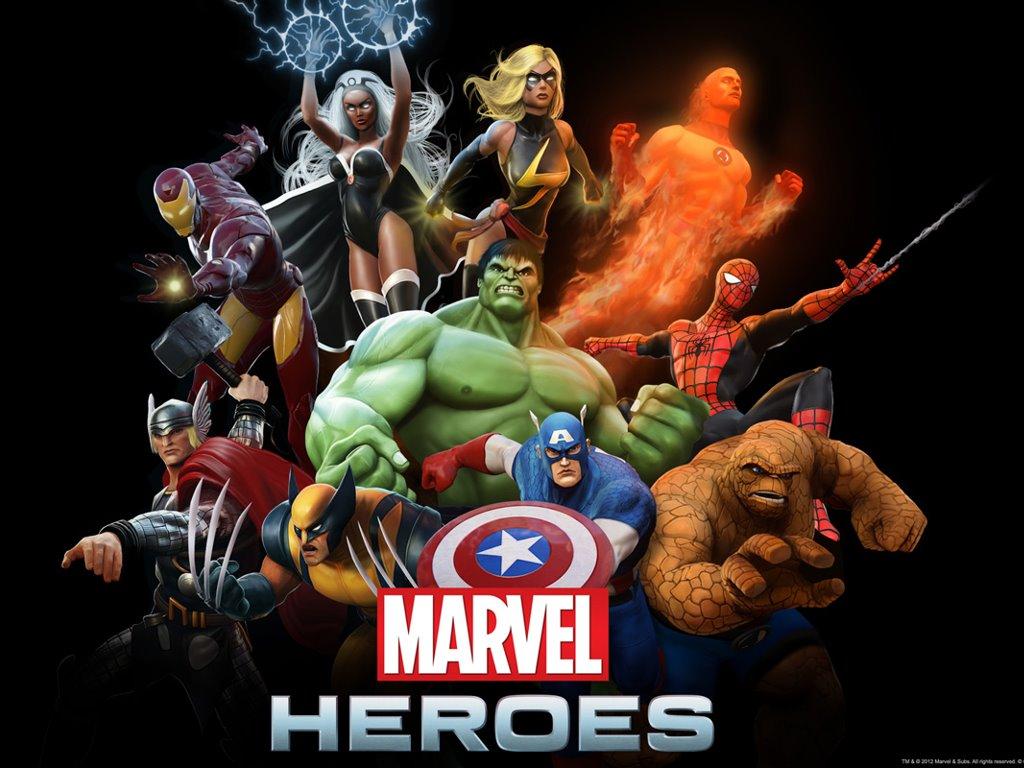 Games Wallpaper: Marvel Heroes