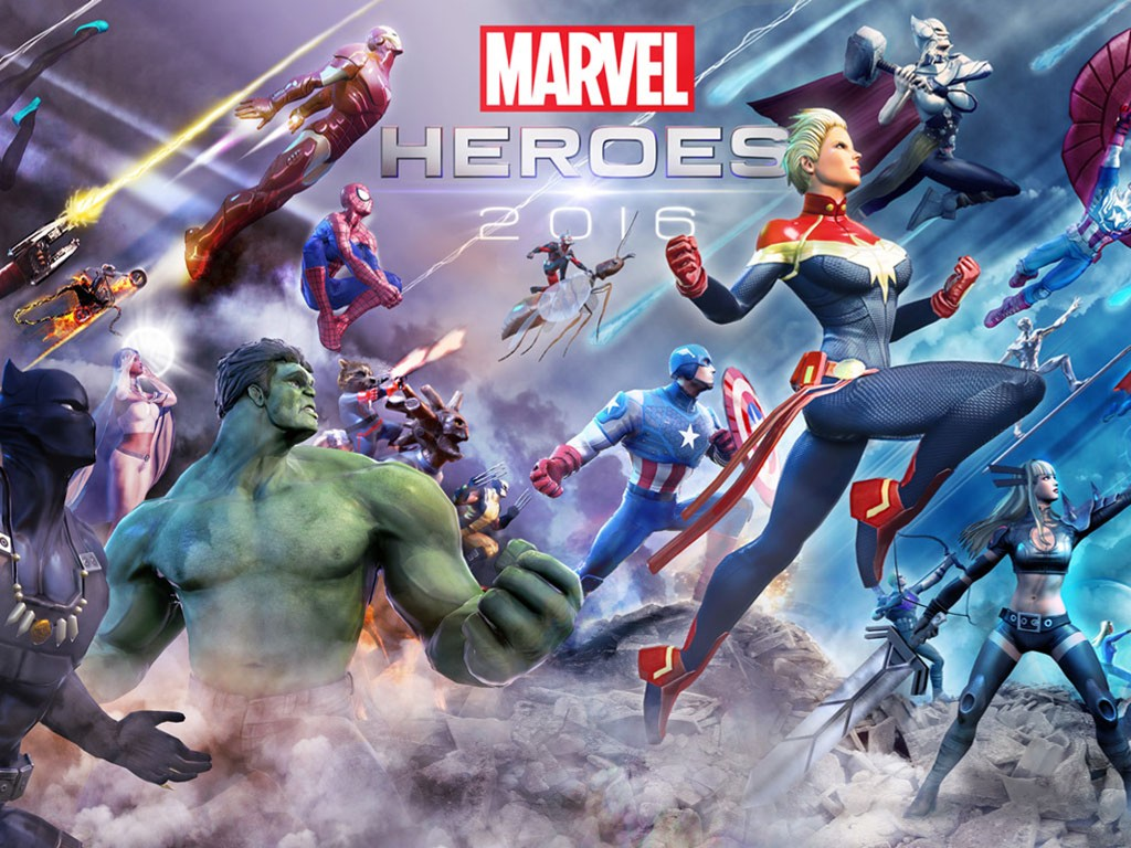 Games Wallpaper: Marvel Heroes