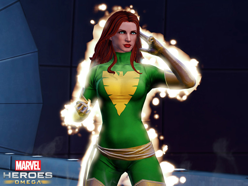 Games Wallpaper: Marvel Heroes Omega - Jean Grey