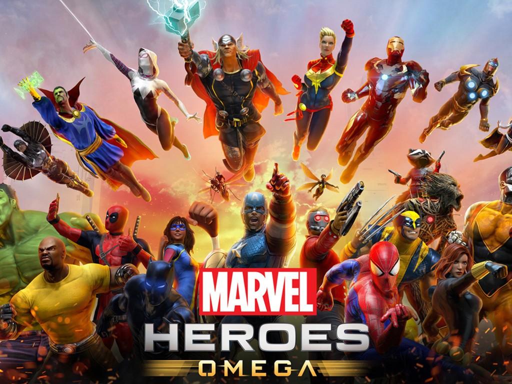 Games Wallpaper: Marvel Heroes Omega