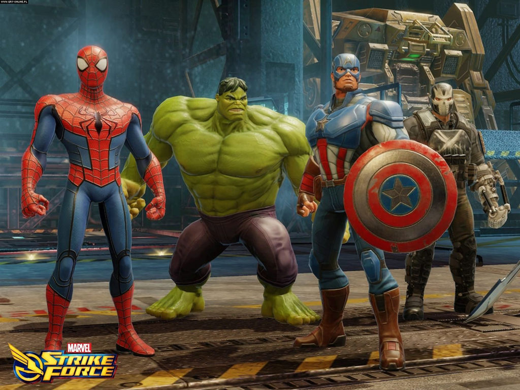 Games Wallpaper: Marvel Strike Force