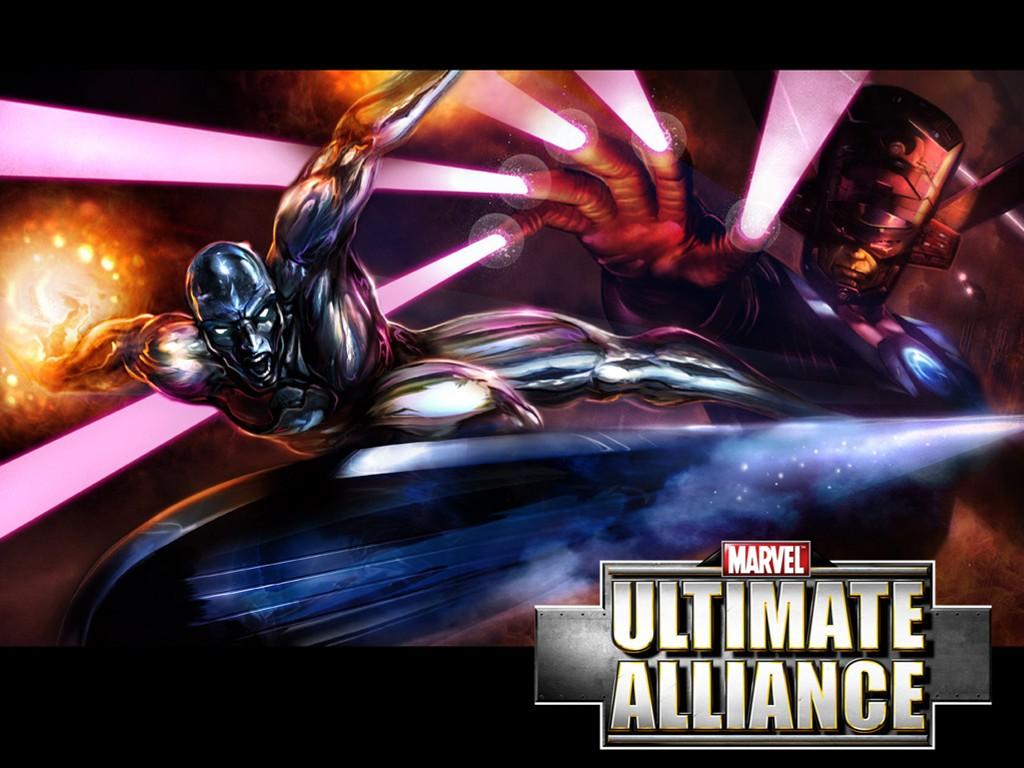 Games Wallpaper: Marvel Ultimate Alliance - Silver Surfer