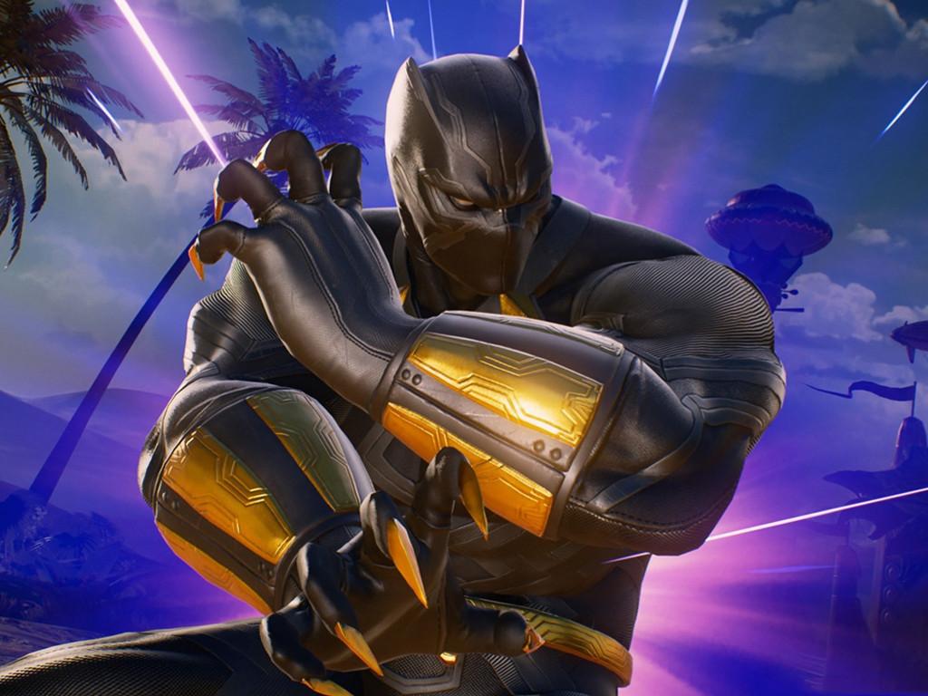 Games Wallpaper: Marvel vs. Capcom Infinite - Black Panther