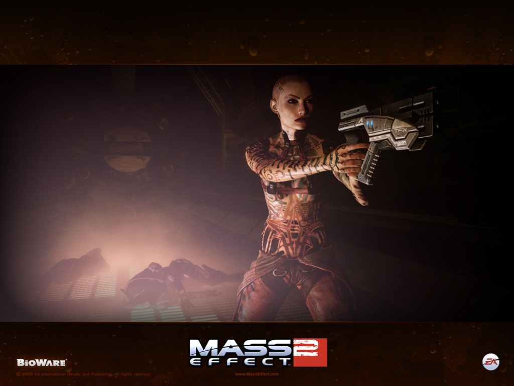 Games Wallpaper: Mass Effect 2