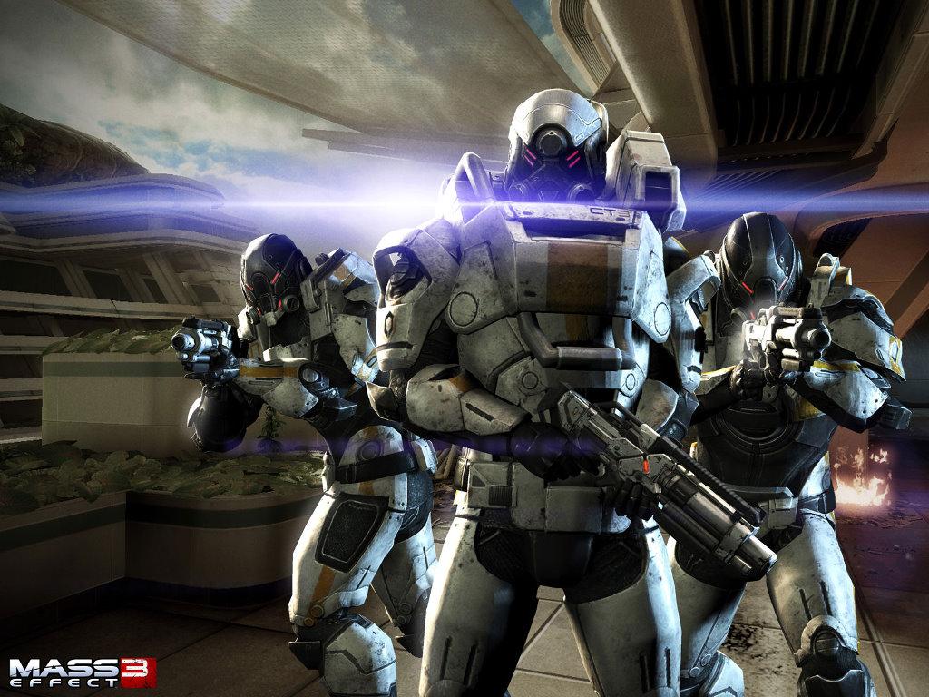 Games Wallpaper: Mass Effect 3