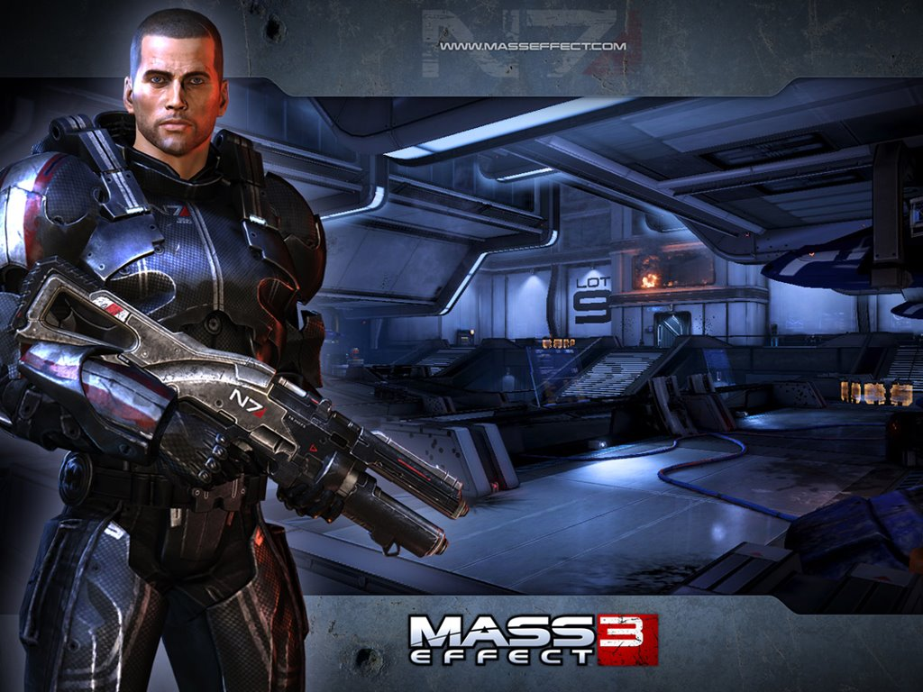 Games Wallpaper: Mass Effect 3