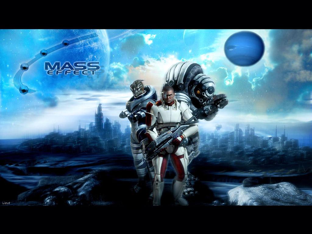 Games Wallpaper: Mass Effect