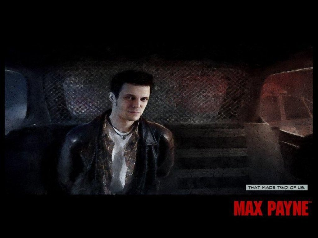 Games Wallpaper: Max Payne - Busted