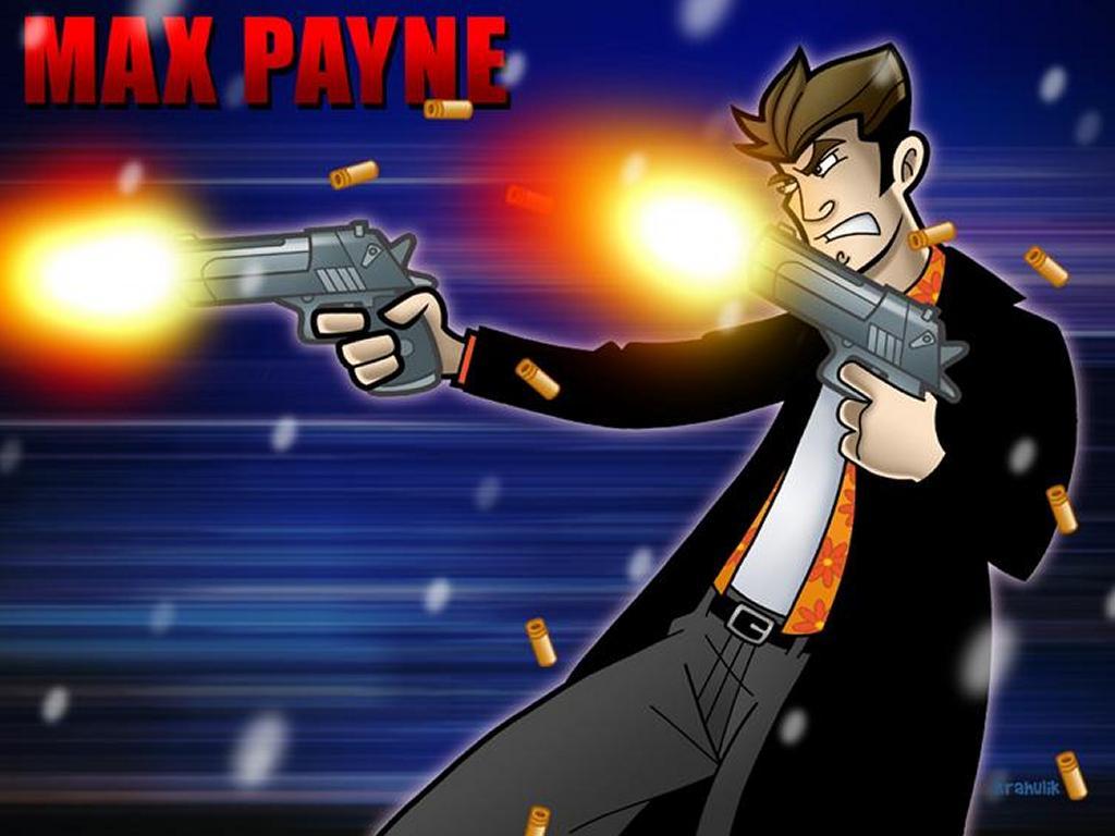 Games Wallpaper: Max Payne - Cartoon