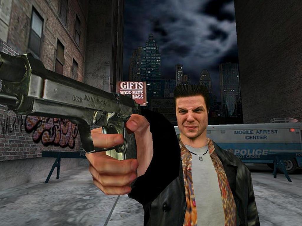 Games Wallpaper: Max Payne Shooting