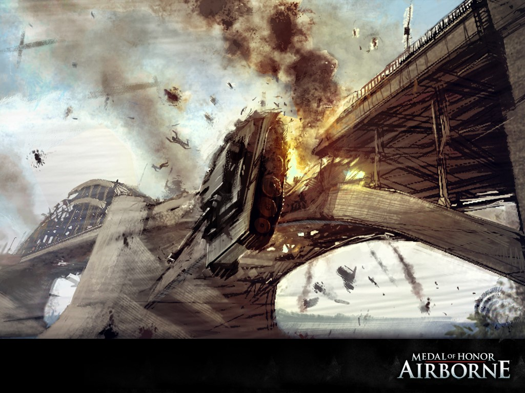 Games Wallpaper: Medal of Honor - Airborne