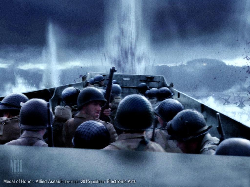 Games Wallpaper: Medal of Honor - Omaha Beach