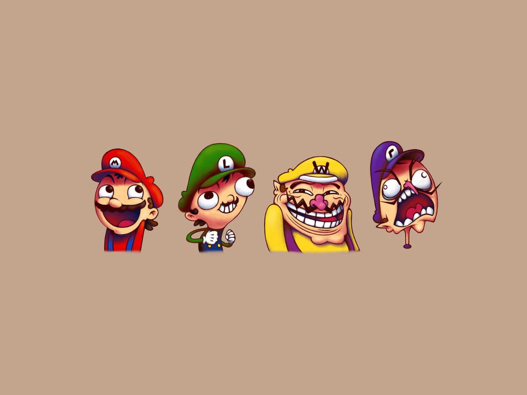 Games Wallpaper: Mario - Memes