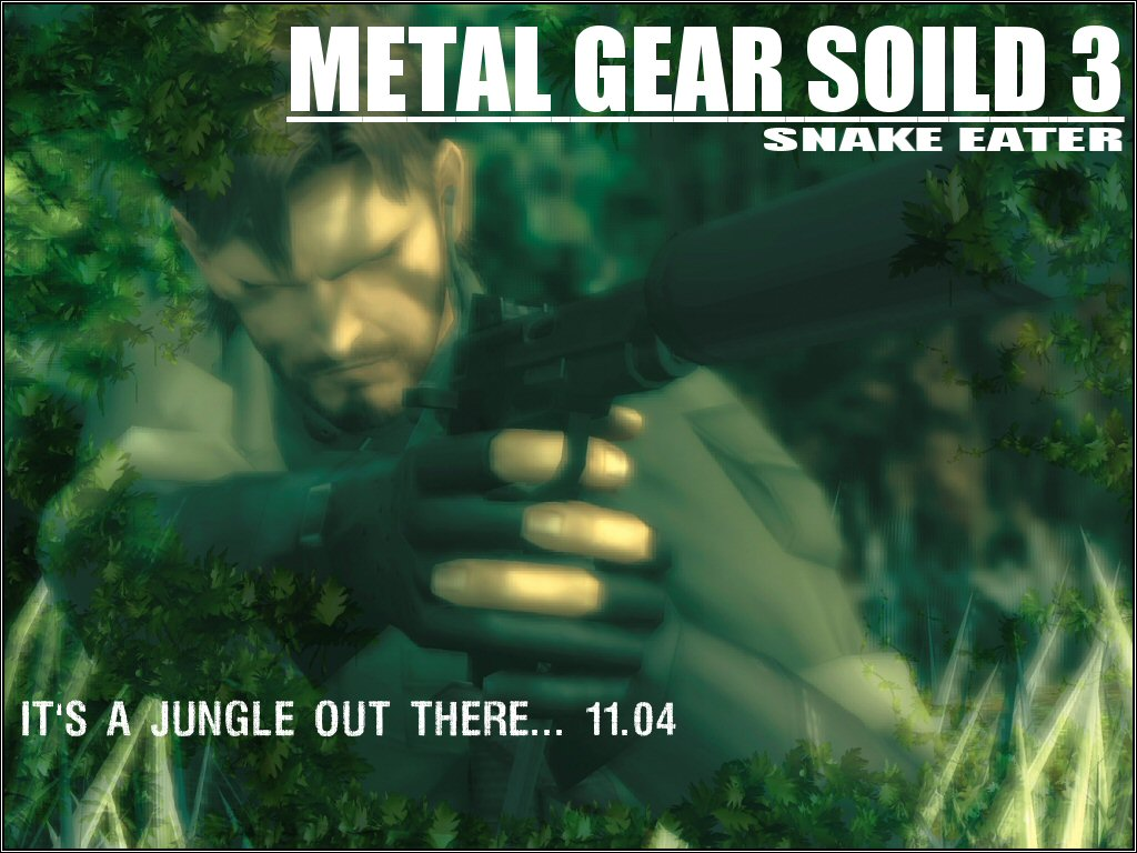 Games Wallpaper: Metal Gear Solid 3 - Snake Eater