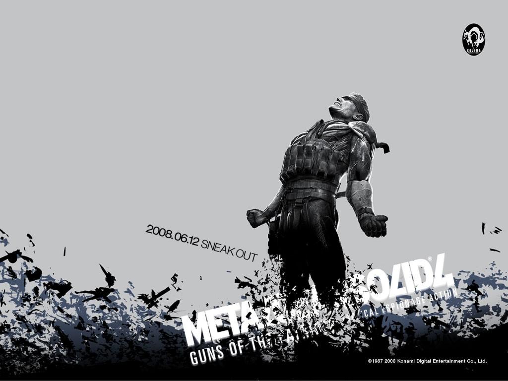 Games Wallpaper: Metal Gear Solid 4 - Guns of the Patriots