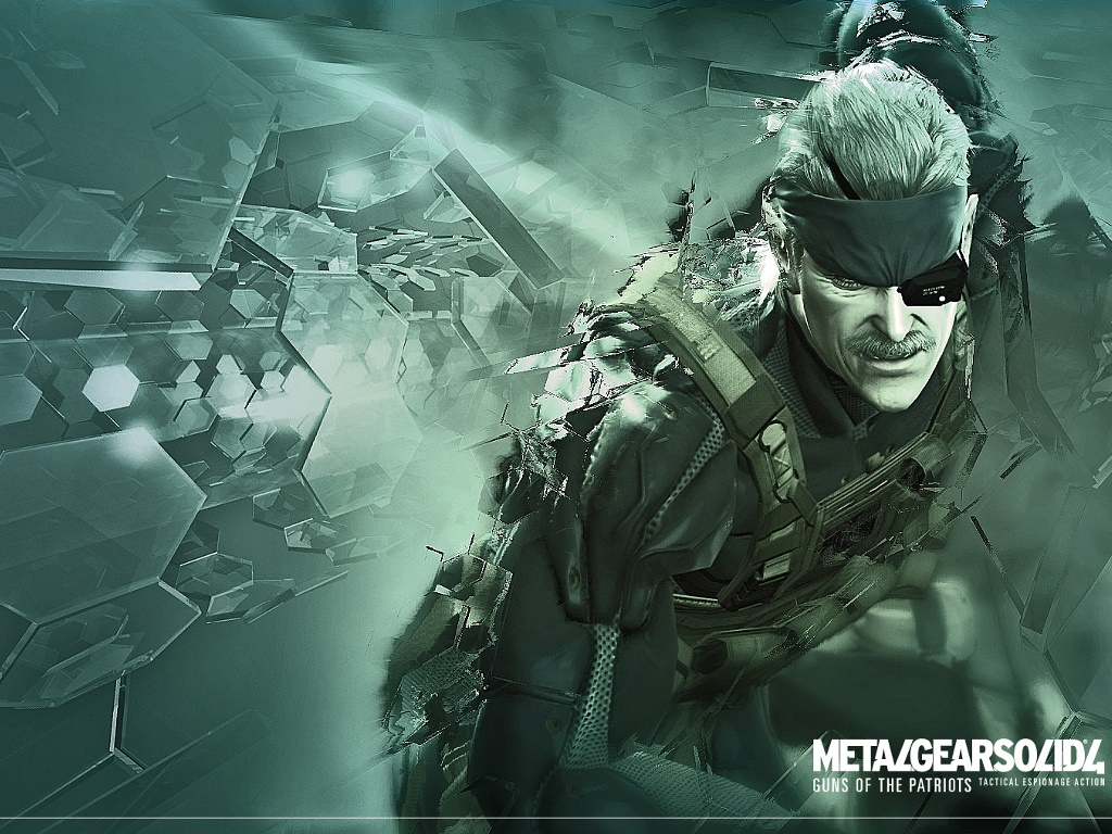 Games Wallpaper: Metal Gear Solid 4