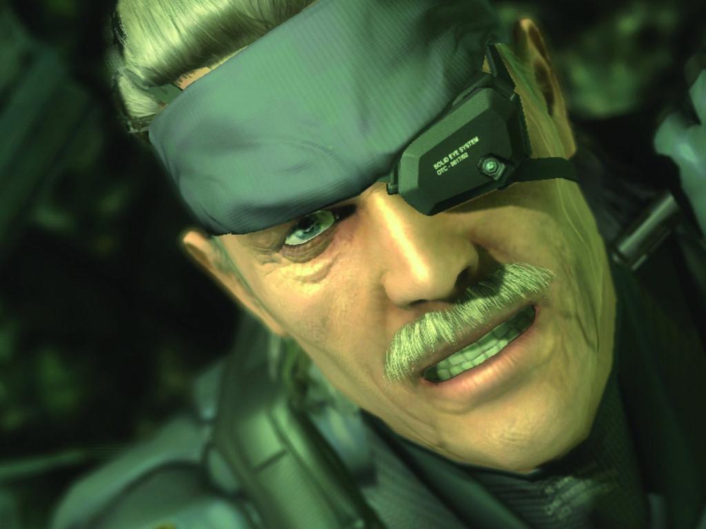 Games Wallpaper: Metal Gear Solid 4 - Snake