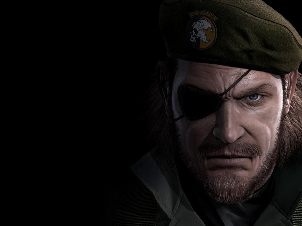 Games Wallpaper: Metal Gear Solid - Big Boss