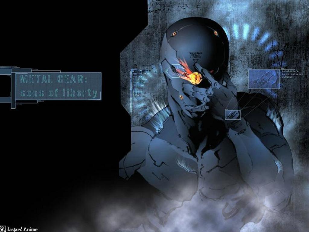 Games Wallpaper: Metal Gear Solid - Cyborg