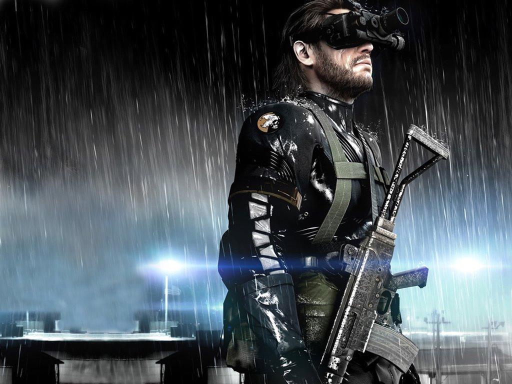 Games Wallpaper: Metal Gear Solid - Ground Zeroes