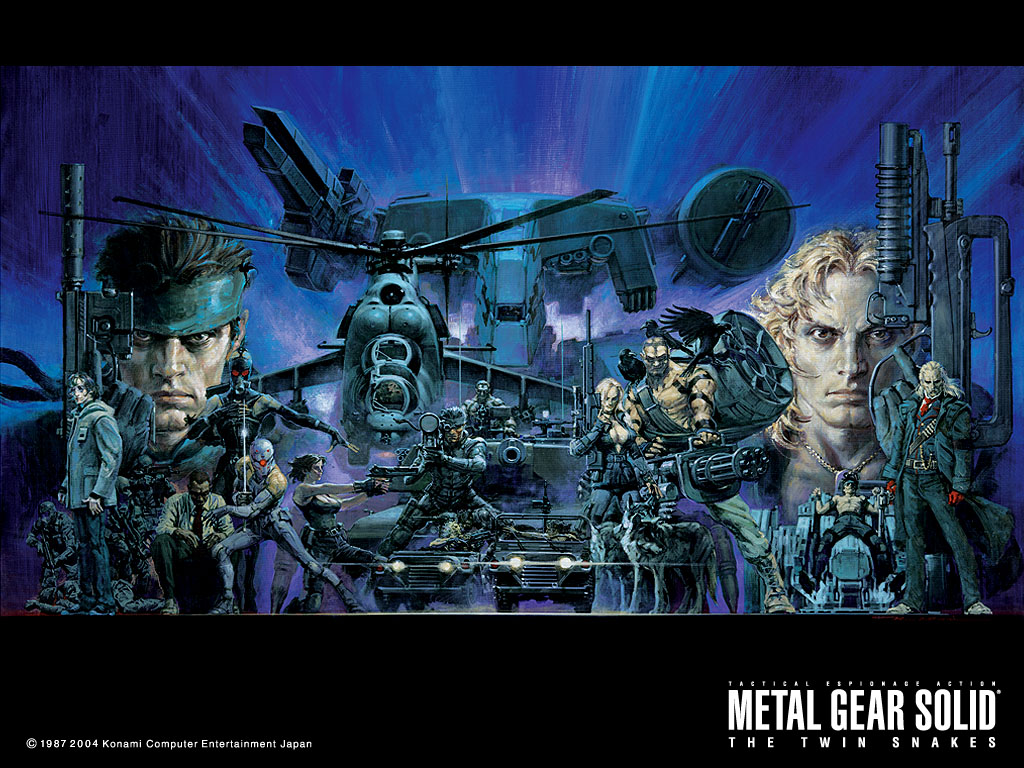 Games Wallpaper: Metal Gear Solid - The Twin Snakes
