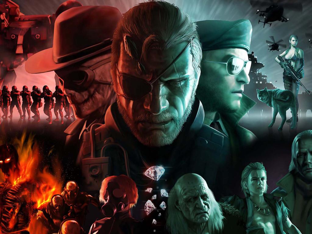 Games Wallpaper: Metal Gear Solid V - Cast