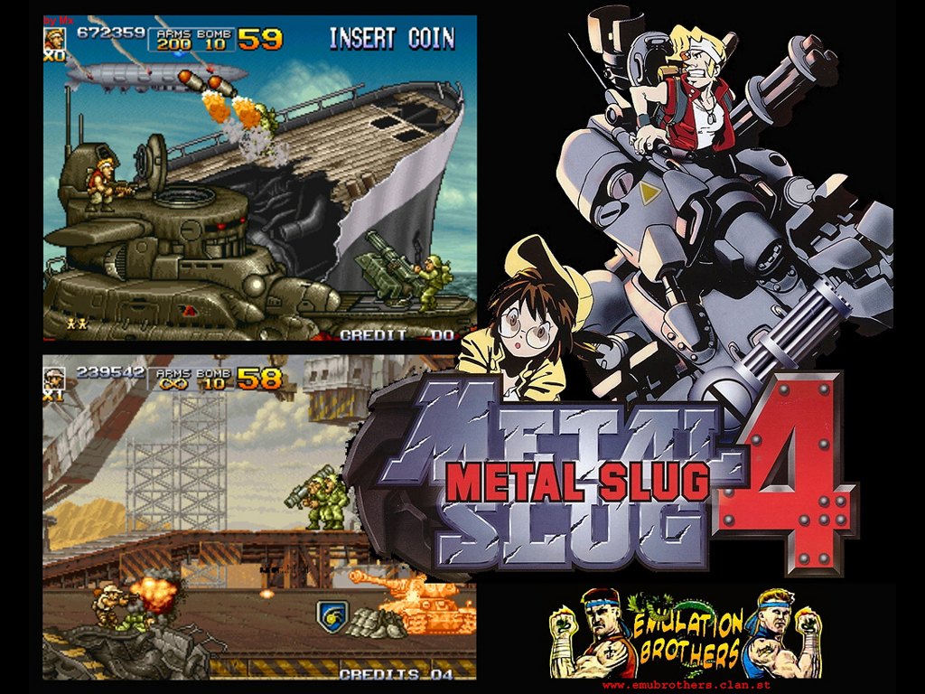 Games Wallpaper: Metal Slug 4